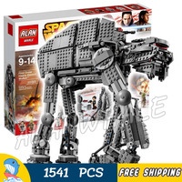 1541pcs Space Wars The First Order Heavy Assault Walker 05130 Model Building Blocks Toys Bricks Games