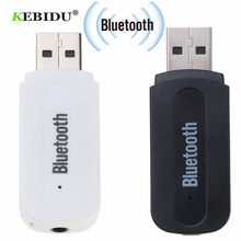 kebidu Portable Mini Bluetooth 2.1 Wireless Music Receiver Car Kit AUX Stereo Adapter Audio for iPhone X 8 Samsung Xiaomi HUAWEI(China)