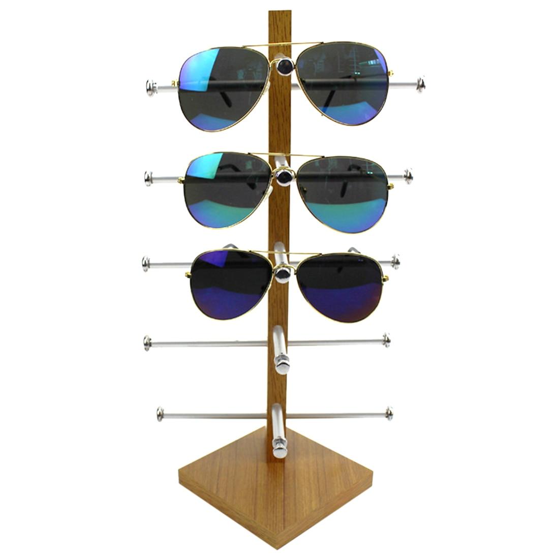 HypSTEEN משקפי עץ מעשיים לתצוגה ארון - אחסון הבית וארגון