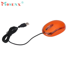 Optical Wired USB Gaming Mouse Top Quality Office New Design Fashion Work 1200DPI Mice For PC Laptop Orange iRato 17July11