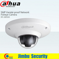 Dahua Newest Waterproof 5MP Full HD IP Fisheye Camera W POE DH IPC EB5500 IPC