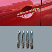 ABS chrome car parts door handle cover Car Styling accessories For Mitsubishi 2013 ASX