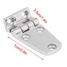 2pcs Stainless Steel Flush Door Hatch Compartment Folding Bending Hinge Casting for Boat Marine Boat Accessories Marine