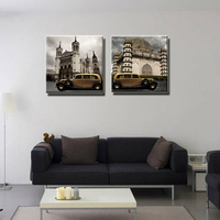 2 Pcs No Frame Modern American Wholesale Canvas Print Painting On Canvas Wall Art Home Decor
