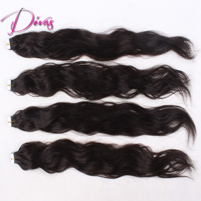 100 Indian Remy Tape Hair Extensions 40 Pieces 100g 1 1b 2 3 4