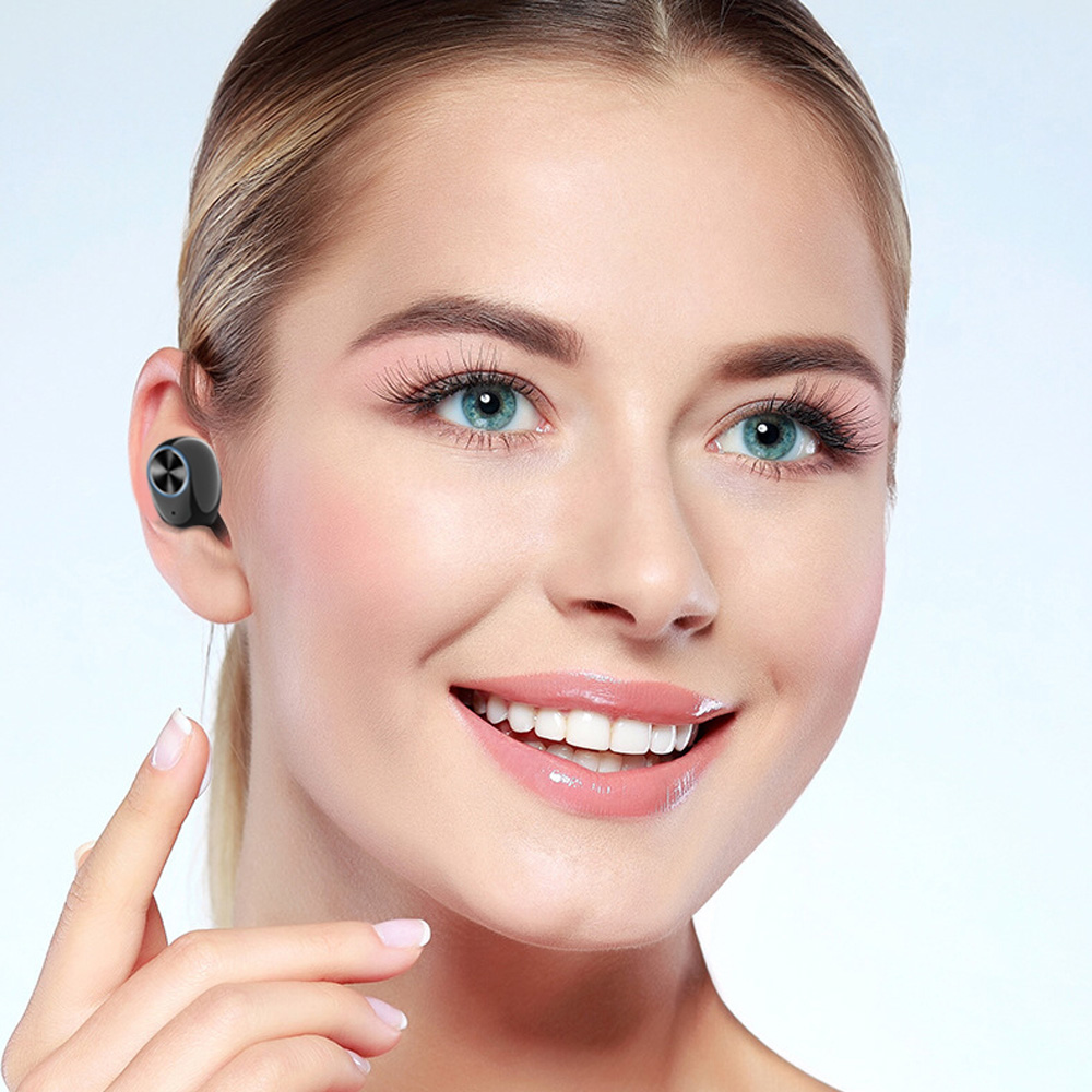 Image 4 - Real Stereo Headset Wireless Bluetooth 5.0 earphones High Quality Bluetooth Headset for smart phone V8 Two channel earphones-in Bluetooth Earphones & Headphones from Consumer Electronics