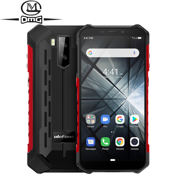 Перейти на Алиэкспресс и купить Смартфон Ulefone Armor X3 на Android 9,0, четыре ядра, экран 5000 дюйма, водозащита IP68/IP69K