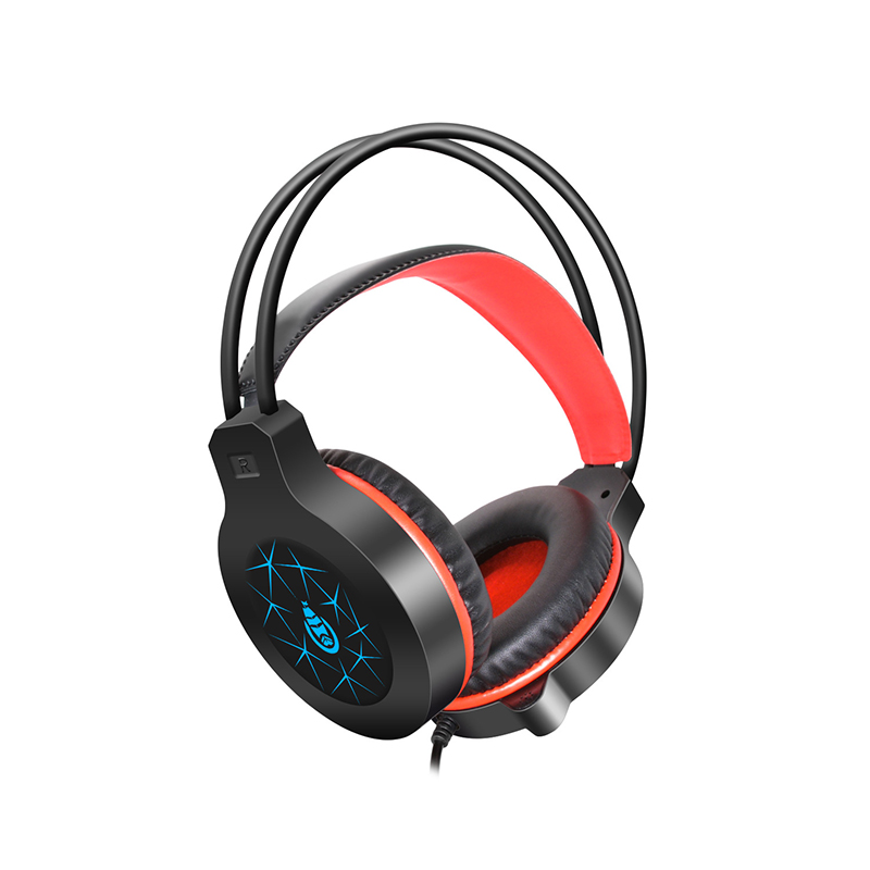 Stereo Gaming Headset  Bass Gaming Earphone Headphone with Mic LED Light for Computer PC Gamer