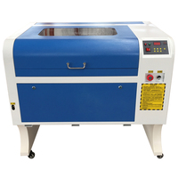 Free Shipping 4060 Laser Engraving 600*400mm Co2 Laser Cutting Machine Specifical for Plywood/Acrylic/Wood/Leather 50W laser