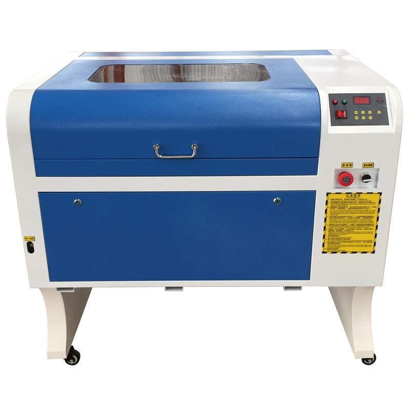 Il trasporto Libero 4060 Laser Incisione 600*400mm Co2 Macchina di Taglio Laser Specifical per il Legno Compensato/Acrilico/Legno /in pelle 50 w laser