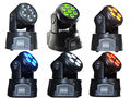 5pcs 15W 5in1 RGBWA LED Moving Head DMX Stage DJ Club Party Show 120W Wash 90-240v MINI Moving Head light Free Ship Stage Lamp