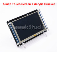 5 Inch 840 480 HDMI Resistive Touch Screen LCD Display For Raspberry Pi 3 2 Model