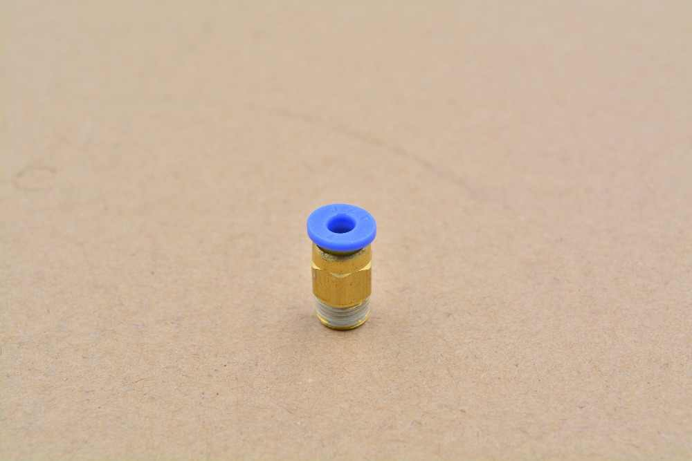 PC4-01 pneumatische schnellkupplung faden durch trachea 3d-drucker j-kopf heißen kopf extruder fütterung rohr PC4-M5 PC4-M6 1 stücke
