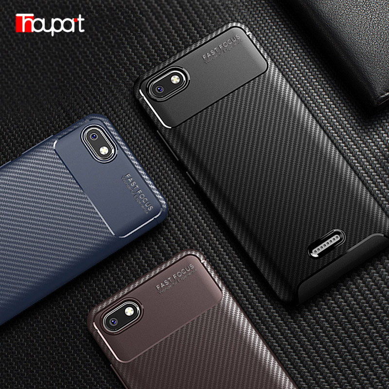 For Xiaomi Redmi 5A Case Silicone Protective Soft Shell Carbon Fiber ShockProof TPU Phone Case For Xiaomi Redmi 5A 5.0