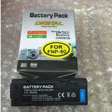 FNP-80 FNP80 NP-80 lithium batteries NP80 Digital camera battery For Fujifilm DC-4800 DC-4900 DC-6800 MX-6900 X-2700