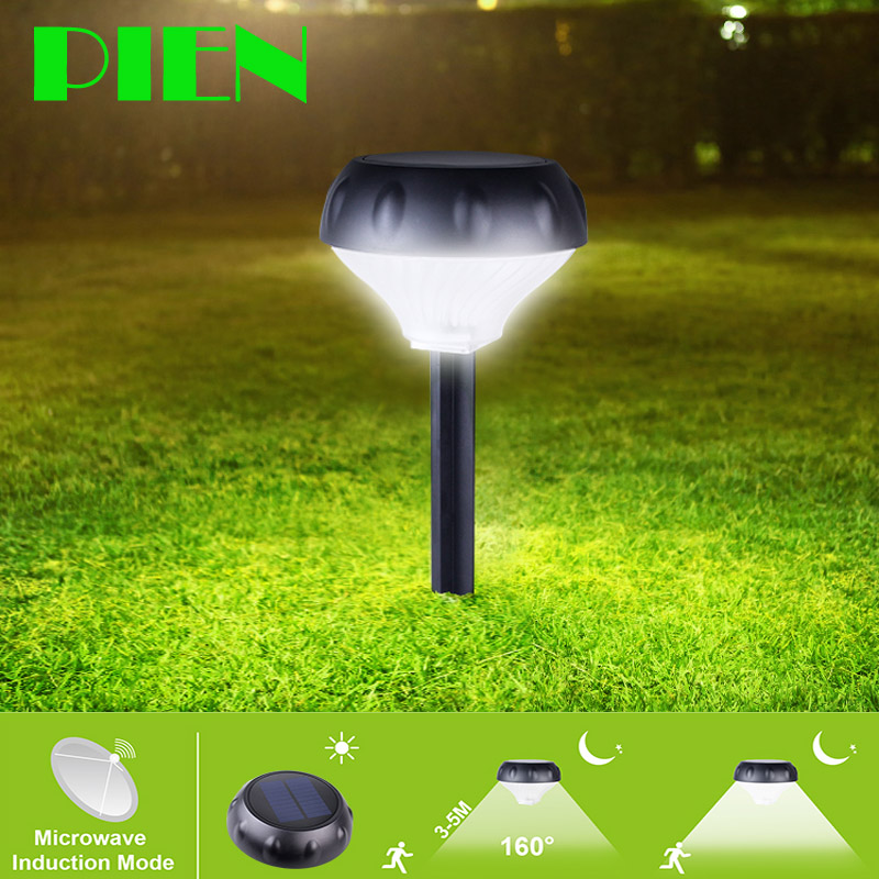 Solar Powered lamps Sensor Outdoor LED Spot light for Garden Lawn Patio with Spike Security waterproof IP65 Light Control css rechargeable waterproof solar powered 30 led spot light white lamp with lithium battery inside for lawn garden road hot