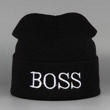 & Winter Hat BOSS Warm Sport Beanies Knit Hats For Women Knitted Ski Skullies Men Wool Caps De Inverno Gorros Bonnets Cappelli