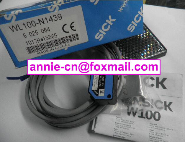 ФОТО 100% New and original  WL100-N1439 (is WL100-N1432+stent)   SICK  Photoelectric switch