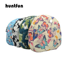 huntfun New floral Composite Twill Cloth Waterproof Inner Lining Insert Zipper Pocket for O bag Obag moon light for O moon light