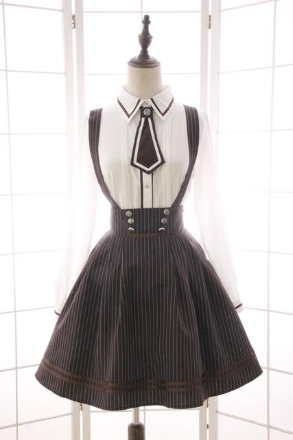 Princess sweet lolita Japanese dress sweet preppy style alice ...