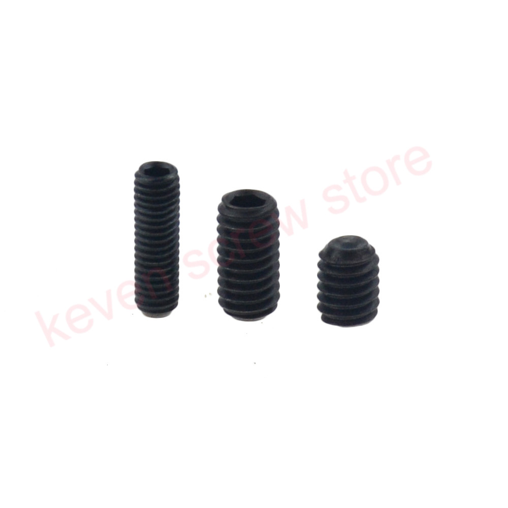 100pcs/Lot <font><b>M2x3</b></font> mm <font><b>M2</b></font>*3 mm 12.9 Alloy steel Hex Socket Head Cap <font><b>Screw</b></font> Bolts set <font><b>screws</b></font> with cup point image