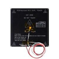 RepRap PCB MK3 Heatbed LED Resistor Cable 100K Ohm Thermistors Aluminum Heated Bed Diameter Like MK2B