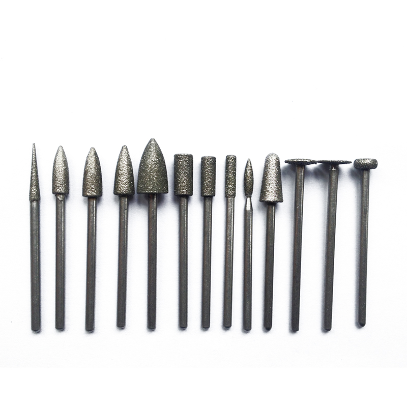 Metal,Ceramics,Jewellery,Stone,Hard Wood Carbide Bit Set,20 pcs ZT101 Carbide Polishing Grinding Bur Bit HP Low Speed for Alloy