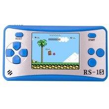 ES 9 2.5LCDD Palmare Console di Gioco per I Bambini Costruito in 168 Old School Giochi Retro Arcade Giocatori di Gioco del Ragazzo Di Compleanno regalo