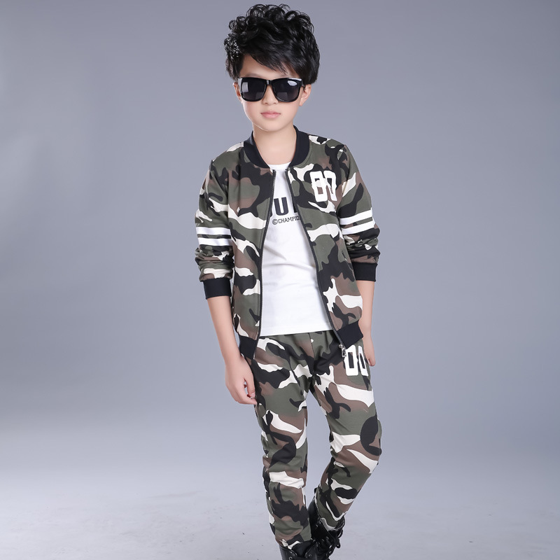 Baby Fahion Clothes Boys Girls Camouflage 2pcs Set Kids Spring Suit Children Clothing Infantil Top+pant Costume Enfant Tracksuit projector lamp et lac75 for panasonic pt lc55u pt lc75e pt lc75u pt u1s65 pt u1x65 with japan phoenix original lamp burner