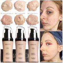 Тональный крем для лица тональный, для придания яркости водонепроницаемый полный охват Профессиональный Макияж матовая основа для лица макияж