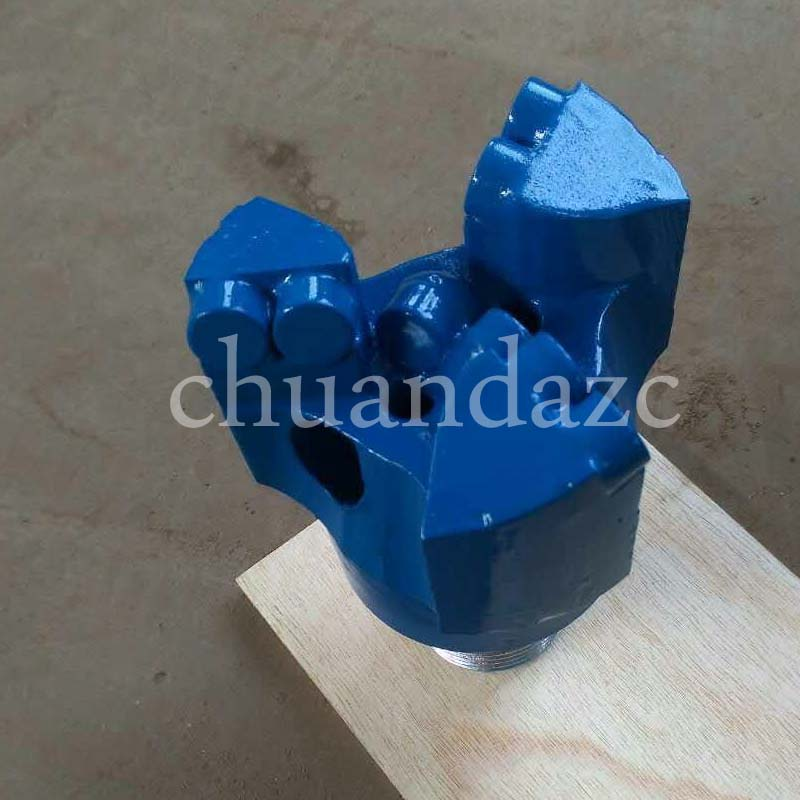цена на 76mm tungsten carbide matrix body flat face drill bit/Clay Geological PDC core