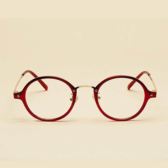 LIYUE oliver peoples óculos de miopia quadro mulheres Eyewear óculos Redondos quadro óculos de computador do vintage 2017 de Moda de Nova homens
