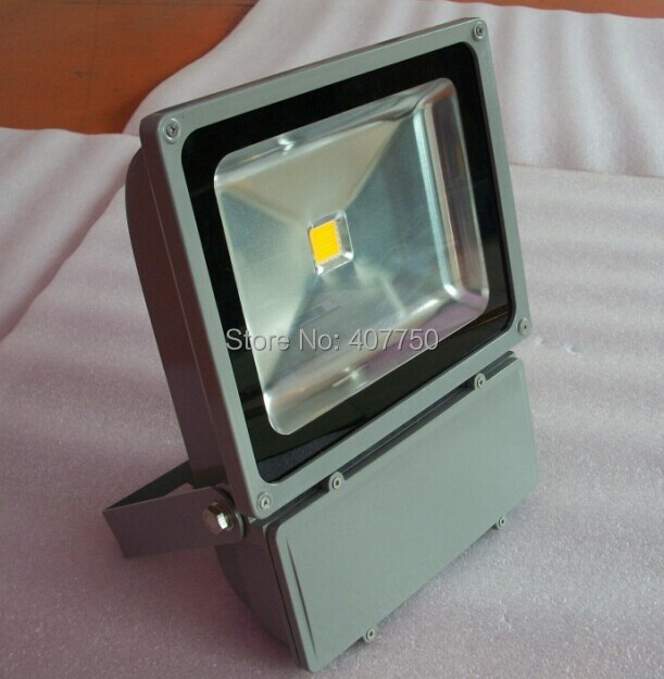 high quality waterproof IP65 single color COB 100w led flood light  used for museums and scenic spots and man-made sculptures high quality high power cob led industrial light led high bay light 100w used for sports centres