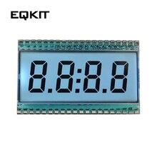 Clock Display 4-Digit Temperature EDC190 LCD Driving-3v-20 70 Tube Celsius-Degree-Operation