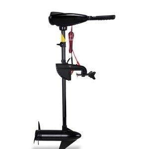 Image 3 - 卸売/小売価格真新しい55ポンド12vトローリングモーター、釣りモーター、船外機完全保証100% 送料部品