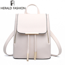 High Quality PU Leather Women's Backpack