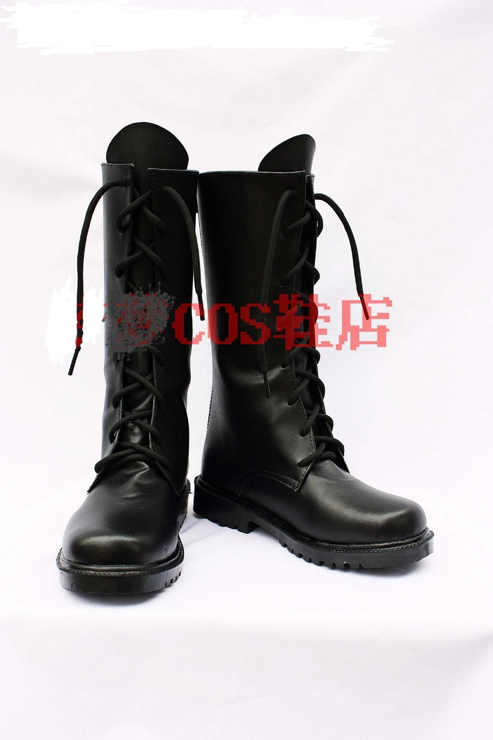 Anime Studio Deen At Last Cosplay Shoes Boots For Halloween Carnival