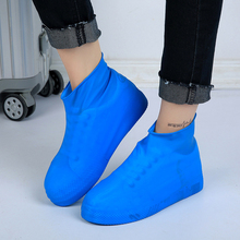 Reusable Latex Waterproof Rain Shoes Covers Unisex Anti-Slip Boot Cover Snow For Camping Hiking Fishing Accessories