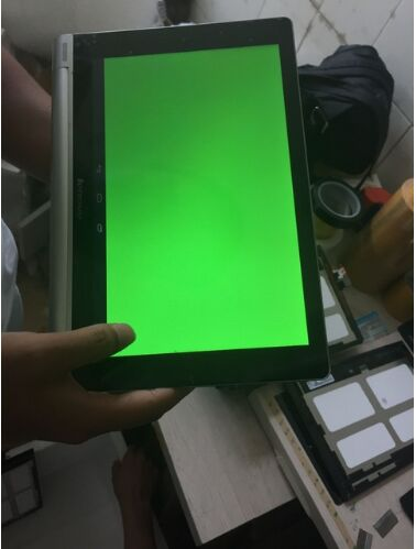 10.1 LCD and touch panel with frame For Lenovo YOGA TABLET 10 <font><b>B8000</b></font> <font><b>B8000</b></font>-F 60046 Z0AL wifi Assembly Digitizer Screen Tablet pc image