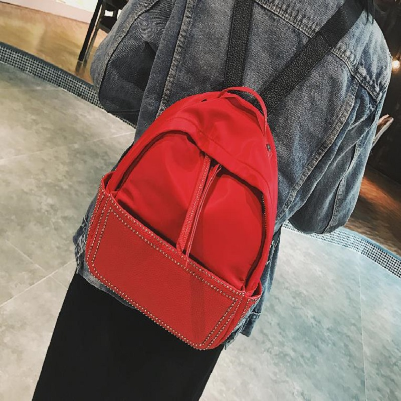 2018 NEW THREE FEATHER Double shoulder schoolbag, student small backpack, nylon double s ...
