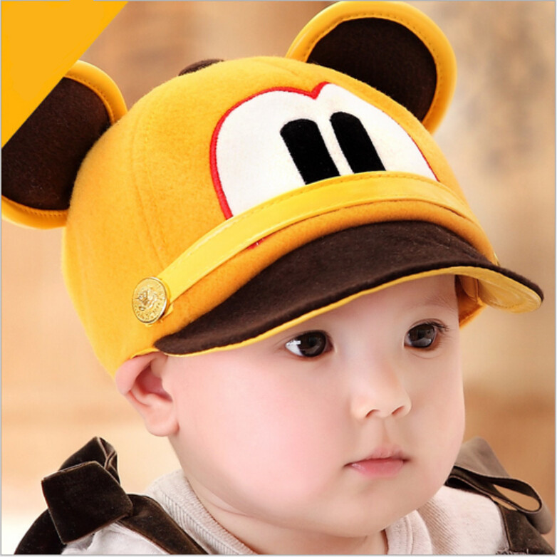 04131809238 2018 kids cap autumn baby hat girl bonnets infant safety head protection boy  spring fall cap snapback toddler gorro peaked cap-in Hats   Caps from  Mother ...