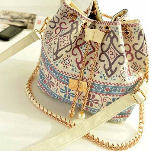 Women Lady Summer Fashion Handbag Shoulder Bag Tote Messenger Hobo Storage Purse Printing Lady Crossbody Mini Bag For Women