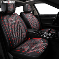 kokololee car seat cover for mercedes w124 ford mondeo smart fortwo renault logan 2 subaru xv kia sportage 3 car seats protector