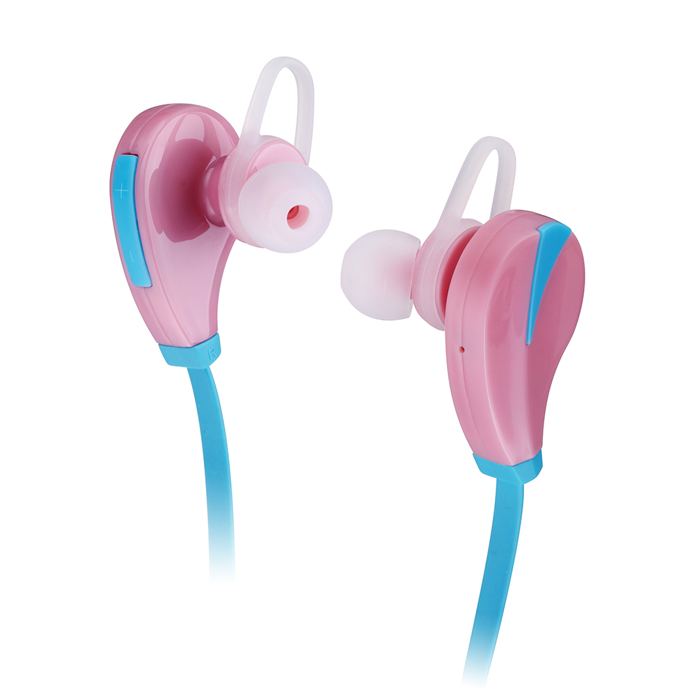 Saunorch Pink Wireless Bluetooth headphones Sport Headset Earphone K96 Earbud Handsfree for iPhone 7 Samsung For Girls Ladies high quality 2016 universal wireless bluetooth headset handsfree earphone for iphone samsung jun22
