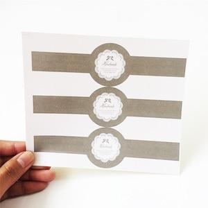 30 шт./лот, длинные винтажные элегантные кружевные наклейки для этикеток, сделай сам, ручная работа, для подарочной коробки, стеклянная банка ...