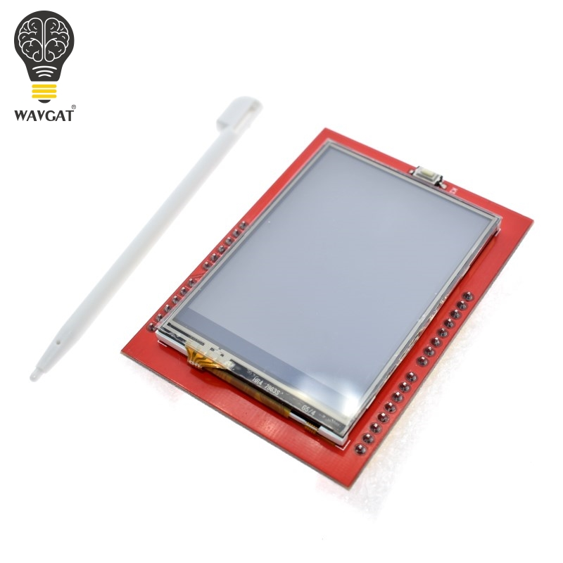 AEAK LCD module TFT 2.4 inch TFT LCD screen ILI9341 Drivers for Arduino UNO R3 Board and support mega 2560