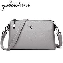 New Bolsa Feminina Shoulder leather Female Women Gray tote Crossbody Bags Women Bags for shoulder luxury handbags Messenger Bags стоимость