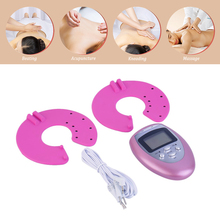 Electronic Breast Enhancer Bust Enlargement Growth Muscle Stimulator Pulse Massager Chest Massage Enlarger For Women недорого
