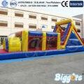 FRETE GRÁTIS POR MAR PVC Gigante pista de Obstáculos Bouncer Inflável Casa Salto Inflável Combo Para Venda