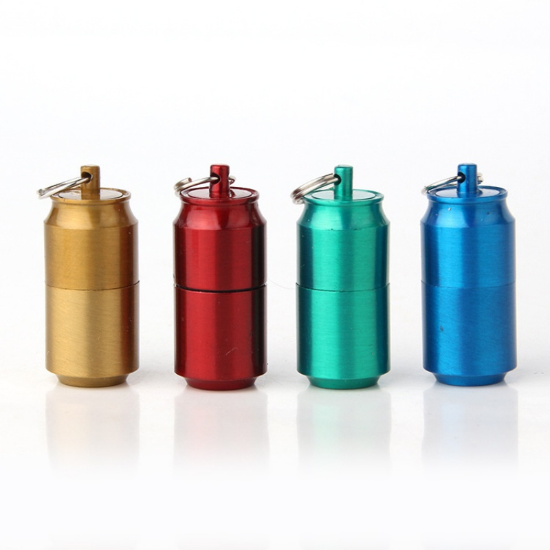 Mini Compact Kerosene Lighter, Small Kerosene Lighter, Small Pendant, Key Chain,Smoking Tool Outdoor Survival Tools